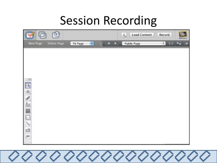 Session Recording