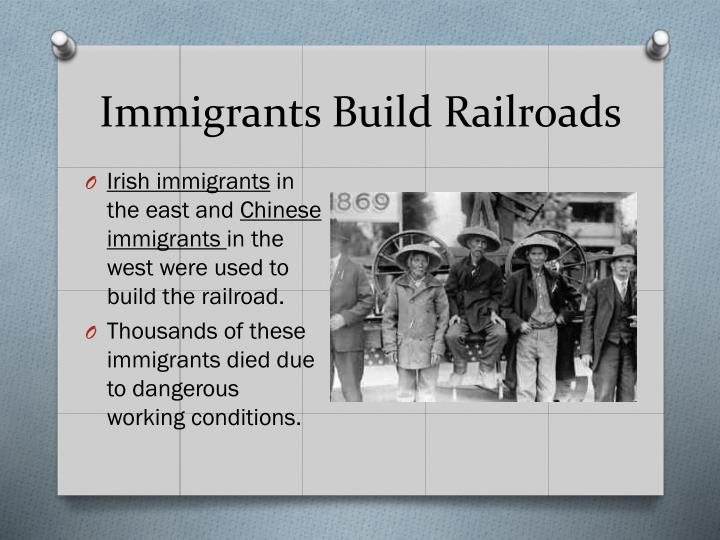 Immigrants Build Railroads