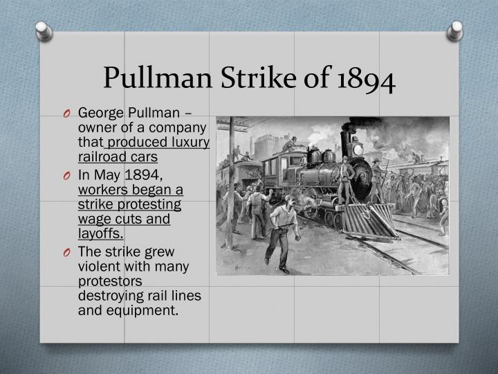 Pullman Strike of 1894