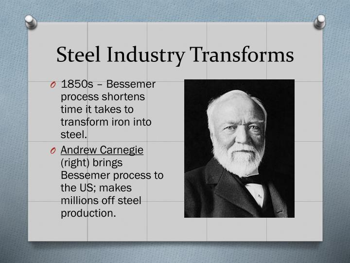 Steel Industry Transforms