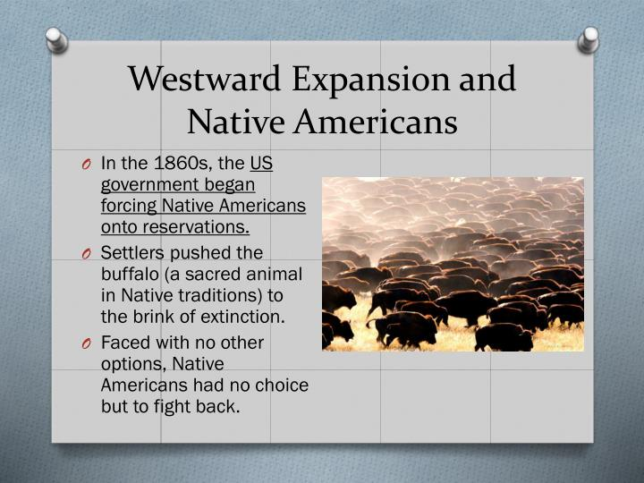 Westward Expansion and Native Americans