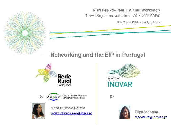 NRN Peer-to-Peer Training Workshop