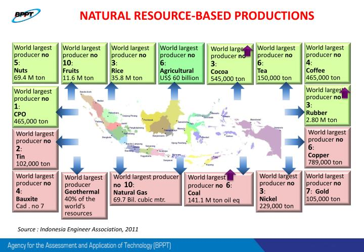 NATURAL RESOURCE-BASED PRODUCTIONS