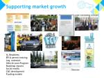 supporting market growth