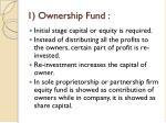 1 ownership fund