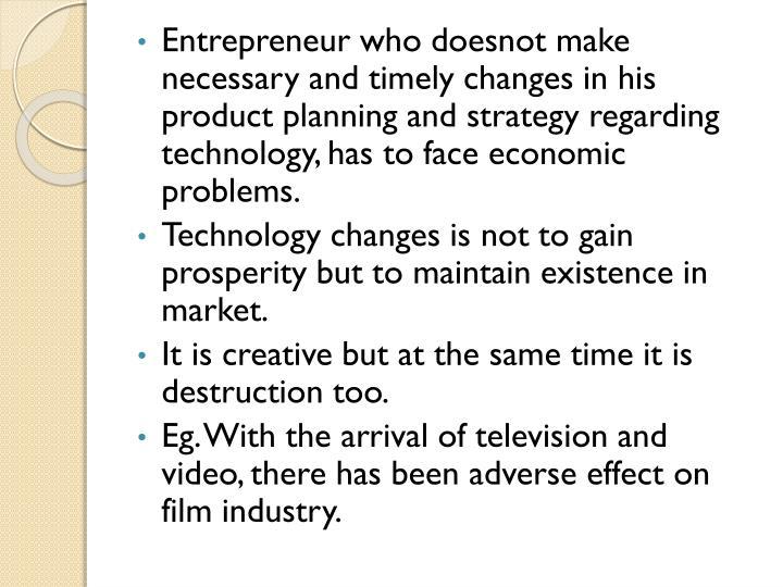 Entrepreneur who