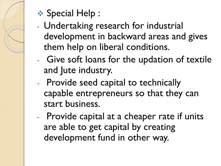 Special Help :
