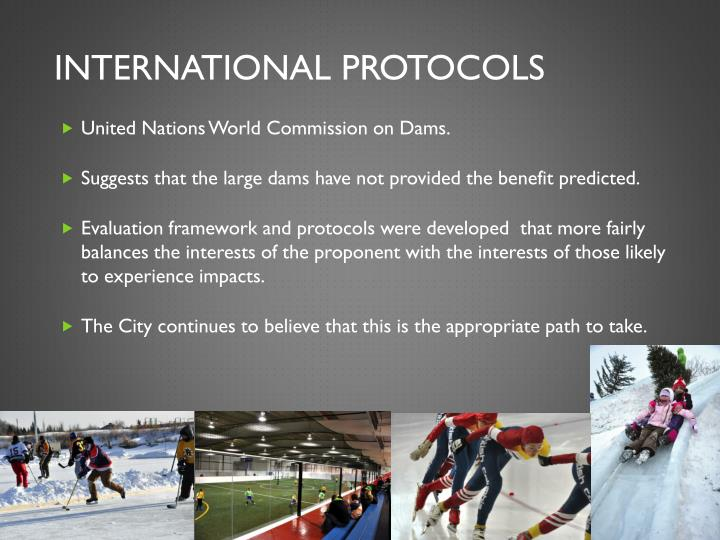 International protocols