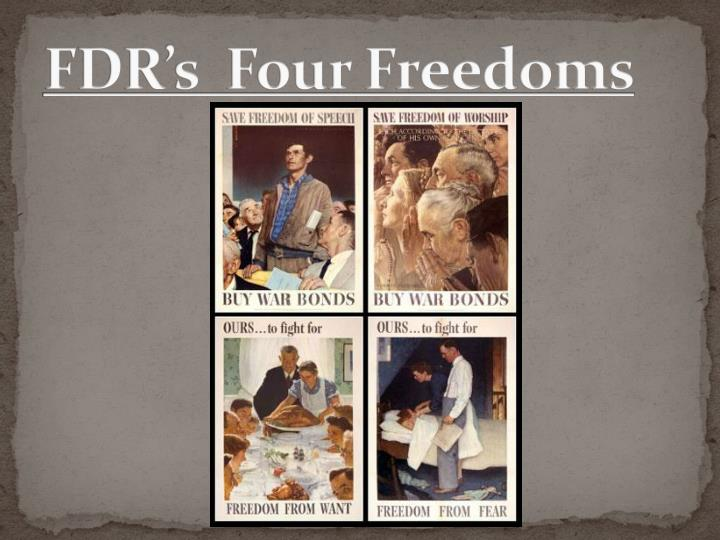 Fdr s four freedoms