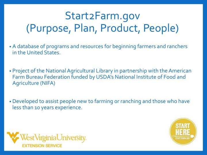 Start2Farm.gov