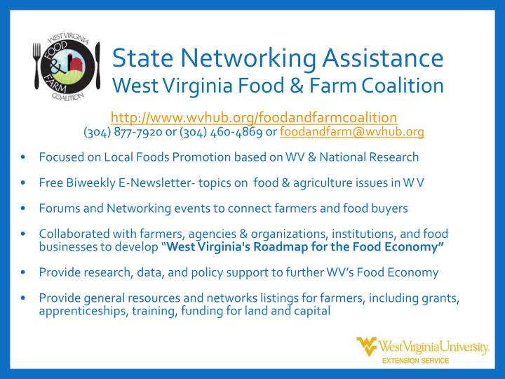 State Networking Assistance