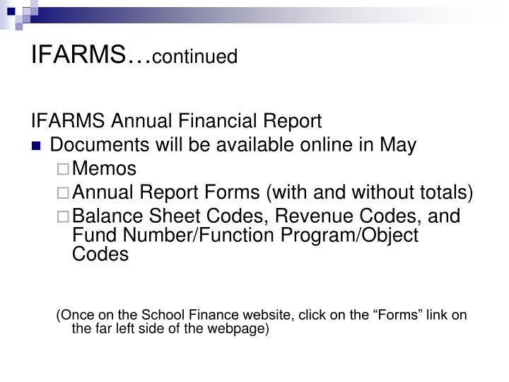 IFARMS…