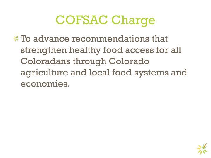 COFSAC Charge
