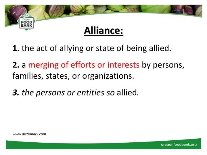 Alliance:
