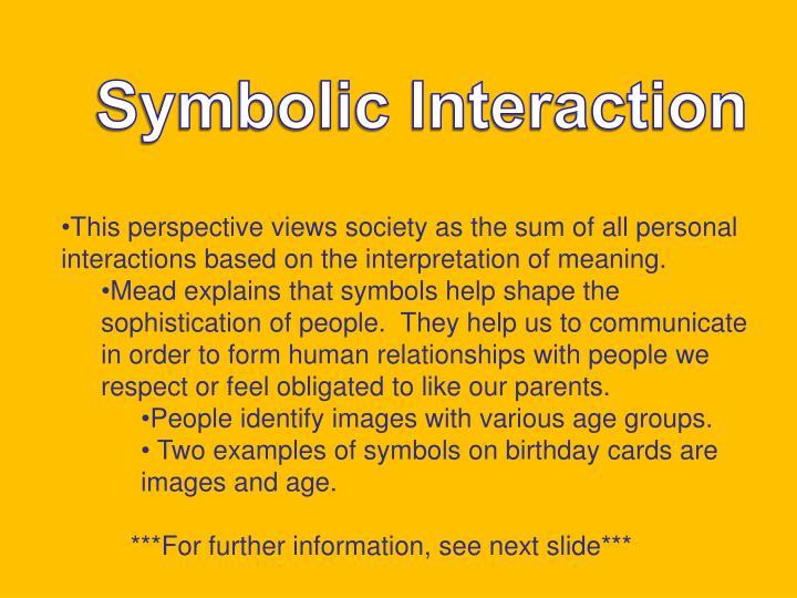 Symbolic Interaction