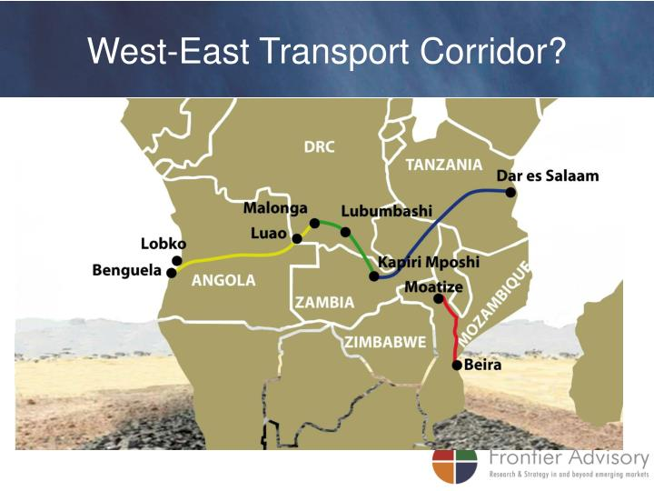 West-East Transport Corridor?