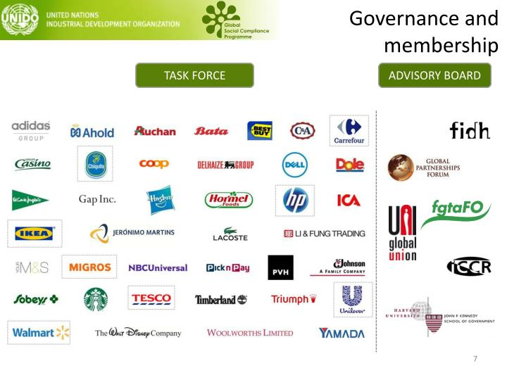 Governance and membership