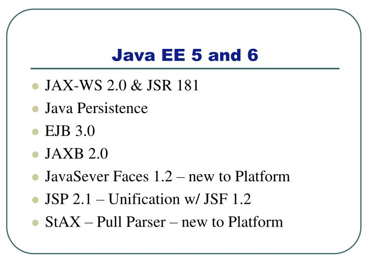 JAX-WS 2.0 & JSR 181