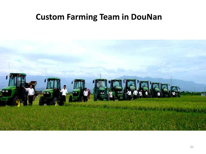 Custom Farming Team
