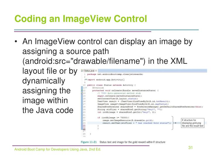 Coding an ImageView Control