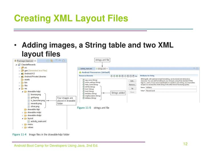 Creating XML Layout Files