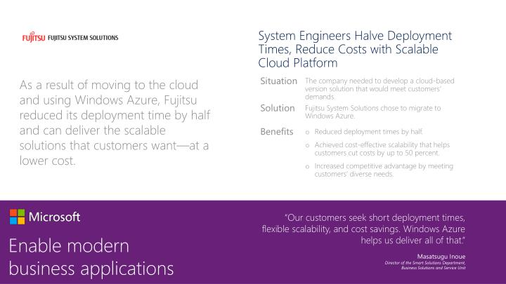 System Engineers Halve Deployment Times, Reduce Costs with Scalable Cloud Platform