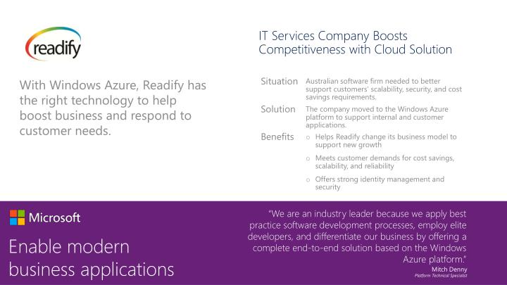 IT Services Company Boosts Competitiveness with Cloud Solution