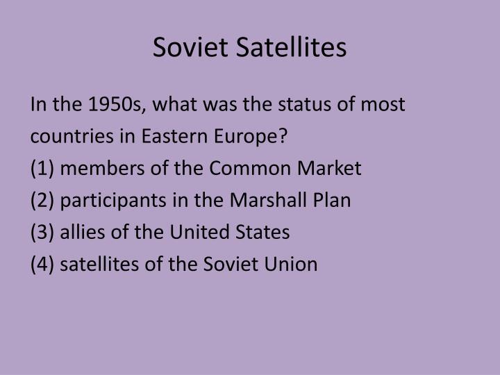 Soviet Satellites