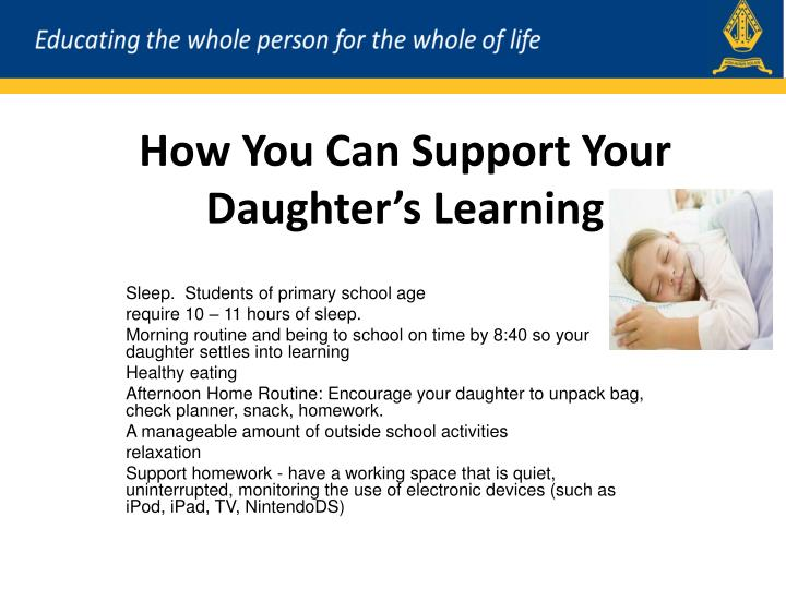 How You Can Support Your Daughter's Learning