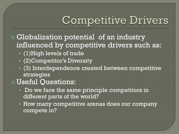 Competitive Drivers