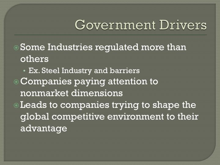 Government Drivers