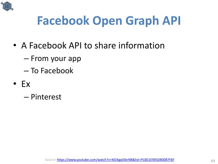 Facebook Open Graph API