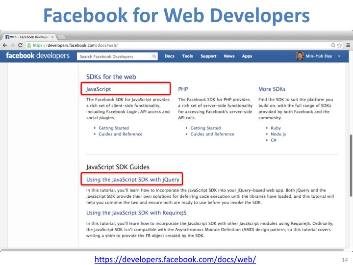 Facebook for Web Developers