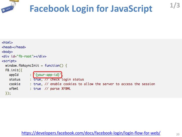 Facebook Login for JavaScript