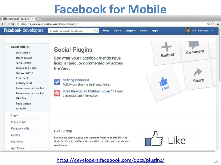Facebook for Mobile