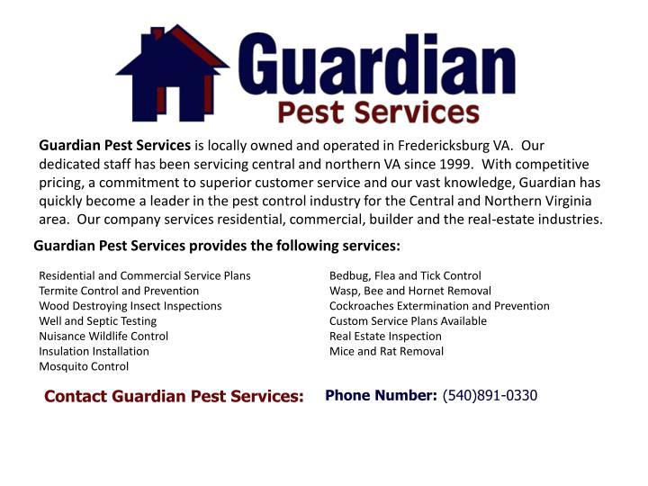 Guardian Pest Services