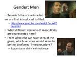 gender men