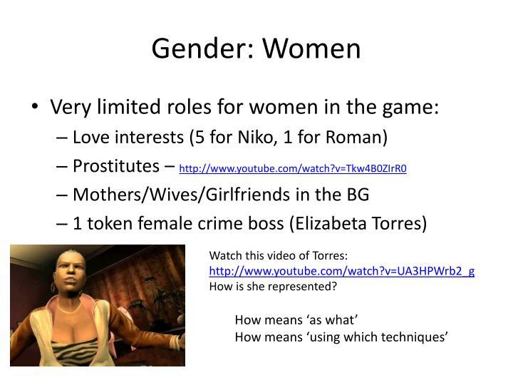 Gender: Women