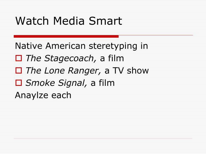 Watch Media Smart