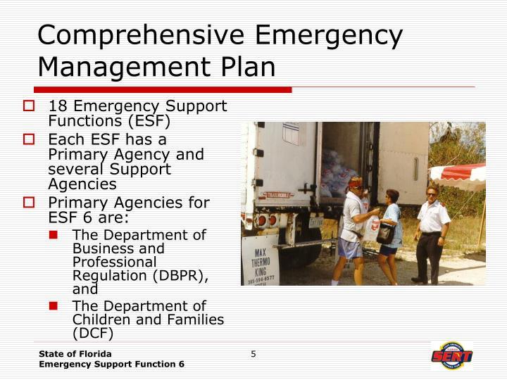 Comprehensive Emergency Management Plan