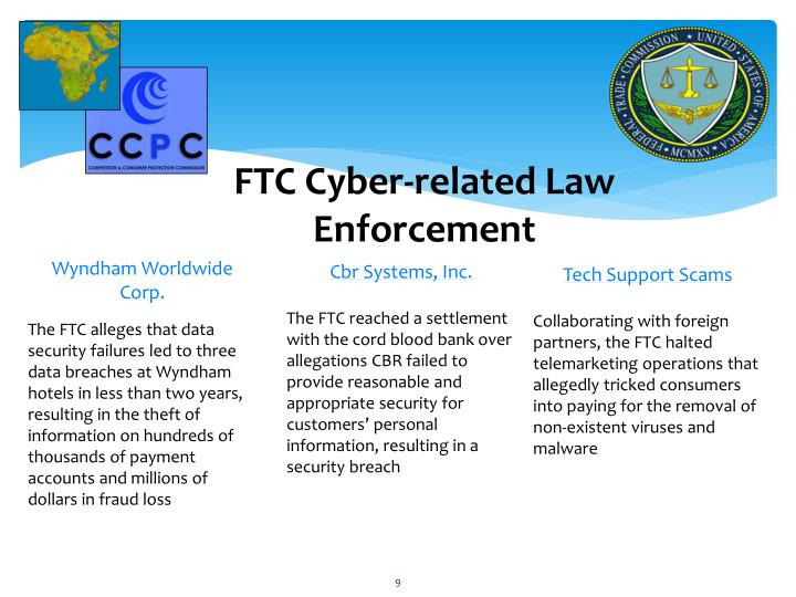 FTC Cyber-related Law Enforcement