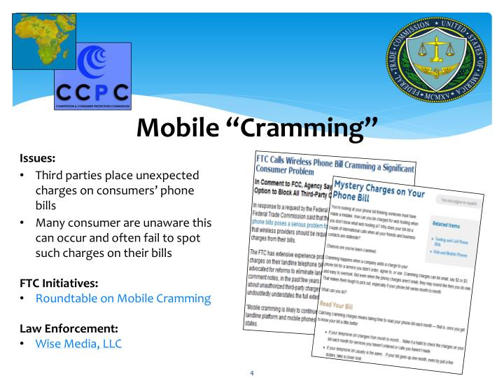 "Mobile ""Cramming"""
