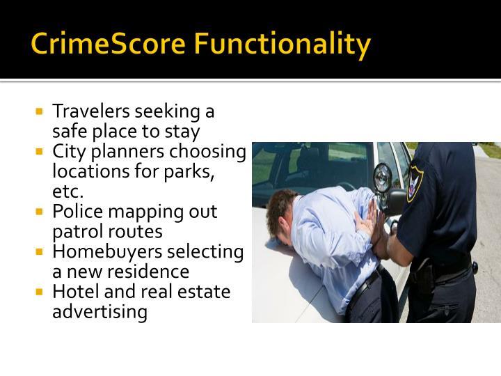 CrimeScore