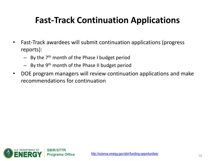 Fast-Track Continuation Applications