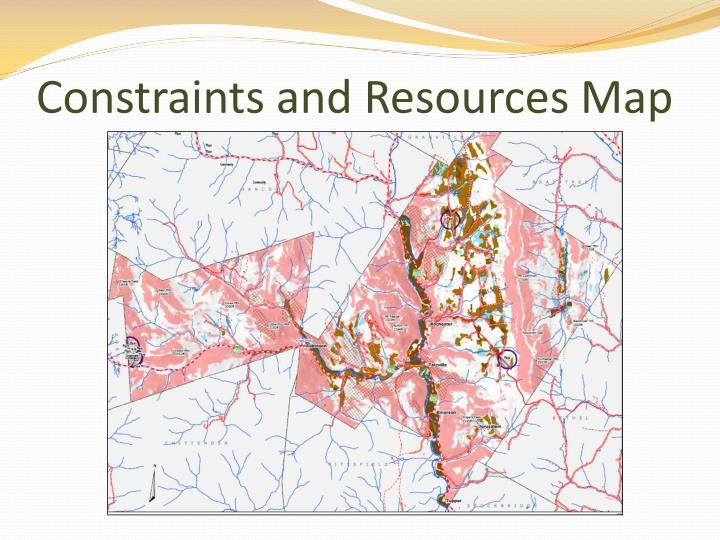 Constraints and Resources Map