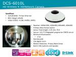 dcs 6010 l hd wireless n 360 network camera