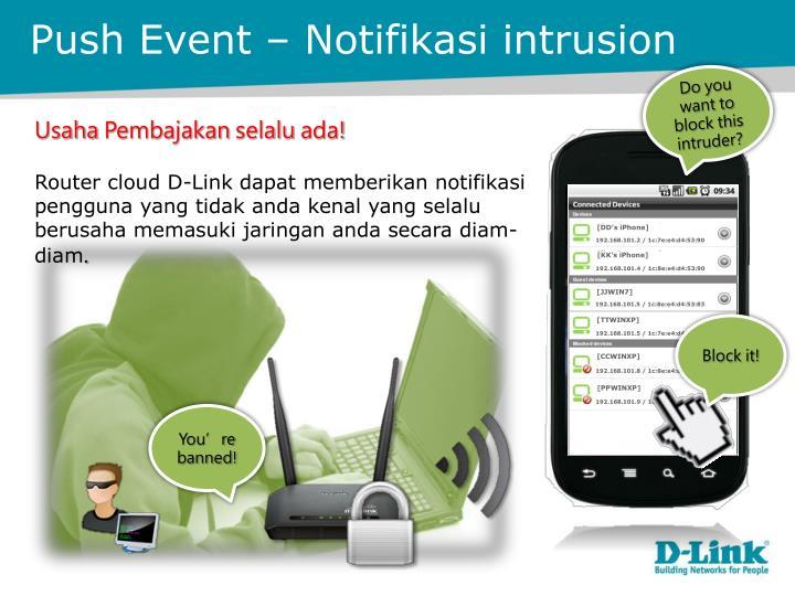 Push Event