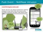 push event notifikasi intrusion