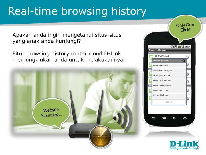 Real-time browsing