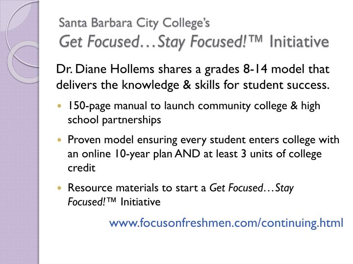 Santa Barbara City College's